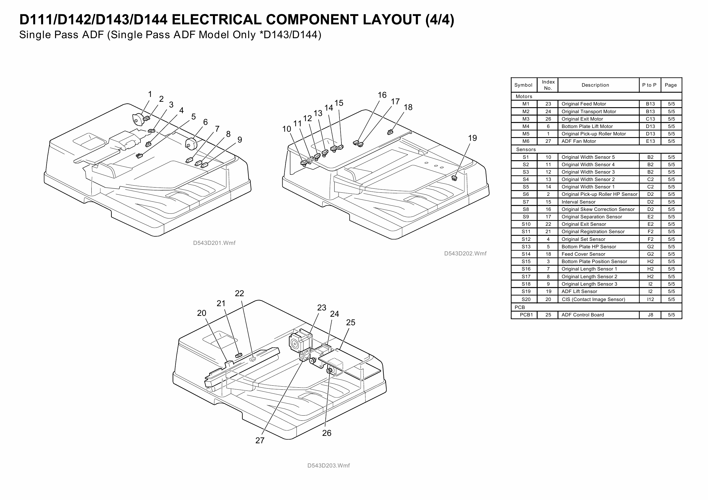 RICOH Aficio MP-C4502 C5502 D143 D144 Circuit Diagram-6